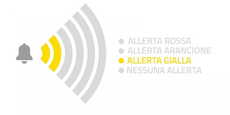 ALLERTA GIALLA per GHIACCIO per il 15 e 16 febbraio 2021